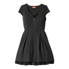 Kirna Zabete for Target® Ponte Zip Front Dress in Gray. -- Just bought this today, it fits so well because it has a little stretch. Love it!