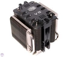 Cooler Master V8 CPU cooler - I have this and it's one of the best CPU coolers I've used.  Beware though!  It's extremely tall, so make sure you check the dimensions first before buying!