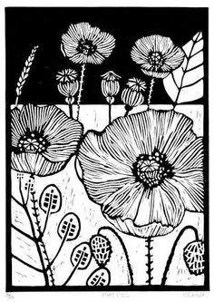 Image result for lino cut print caterpillar to butterfly