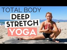 (1) 20 Min Total Body Deep Stretch Yoga Routine for Runners and Athletes - YouTube