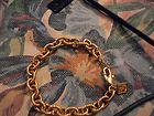 Lion Head Logo, Lion Logo, 24k Gold Jewelry, Anne Klein, Link Bracelets, Plating, Jewelry Making, Chain, Vintage