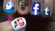 social network nails nail art photographs supplied by members of the NAILS Magazine Nail Art Gallery.