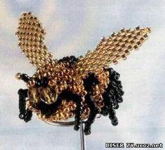 Пчела из бисера. Обсуждение на LiveInternet - Российский Сервис Онлайн-Дневников