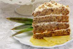 How to Make a Hummingbird Cake: Hummingbird Cake in Four Layers