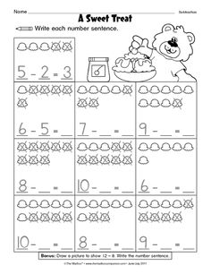 First Grade Math Addition & Subtraction Within 20