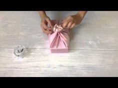 보자기포장 | 모란꽃매듭 | TWG tea box | 보자기꽃 - YouTube