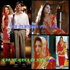 rab ne bana di jodi dresses - Google Search