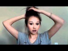 How to Create a High Top Knot  http://toadsandtiaras.wordpress.com/2012/08/24/quick-easy-festival-hair-dos/#