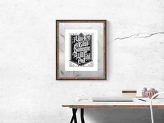 Free Wall Photo Frame Mockup Psd by Zee Que   Designbolts