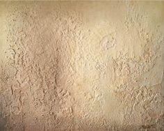 Jordisk lys 40x50 cm. Akryl på lerret m/ strukturteknikk.  Bildet går i fargene:  Off-white, gul-beige, beige, lys nugat, nugat, sjokolade.