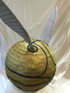 Golden Snitch Pinata Large