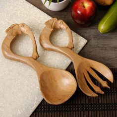Elephant 2-piece Salad Serving Set (South Africa) | Overstock.com Shopping - The Best Deals on Serving Sets