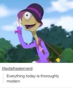 The fact that Agent Pleakley knows what he's doing. | 26 Jokes Only Theatre Nerds Will Understand