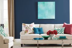 Colorfully, BEHR :: Color of the Month: Midnight Show