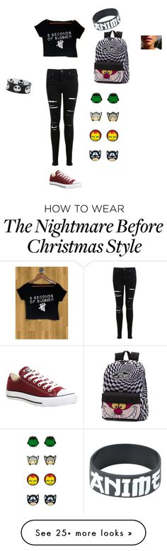 """Out"" by hipstertomboy-5sos on Polyvore featuring Miss Selfridge, Converse and Vans"