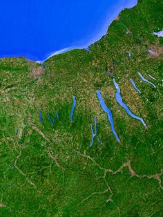 The Finger Lakes from Space by visitfingerlakes, in western and central New York State