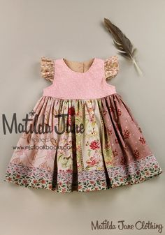 Dresses - Nece Paneled Melsa Dress (RV $72) 18M, 2, 4, 6