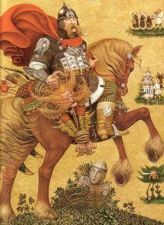 От 100 сказок: лучшие украинские народные сказки ~ иллюстрация Владислава Ерко, 2005 - заболел через, заказать через