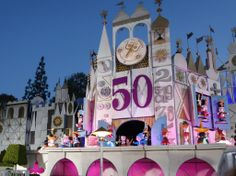 """On April 10, 2014 """"it's a small world"""" celebrated it's 50th anniversary with a global sing along broadcast on ABC's Good Morning America. Th..."""