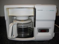 Black Decker Under Counter Cabinet Programmable Coffee Maker Spacemaker |  EBay
