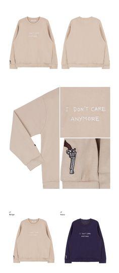 I DON'T CARE ANYMORE Sweatshirt|  |