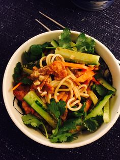Sesame noodles made with pure natural sesame paste! Yummy and nutritious!