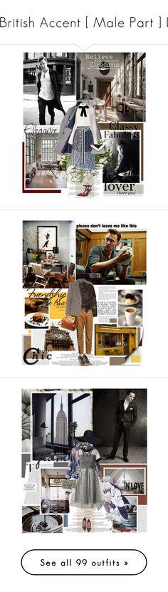 """British Accent [ Male Part ] I"" by daha-mk ❤ liked on Polyvore featuring mattsmith, tomhiddleston, benedictcumberbatch, MichaelFassbender, Andrewscott, Hilfiger, Alexander McQueen, Preen, Alexander Wang and Villain"