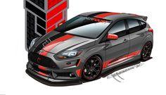 Ford Focus ST, SEMA concept