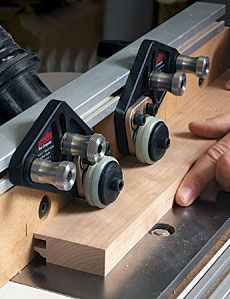 JessEm - Clear-Cut Precision Stock Guides. A better hold-down for router tables