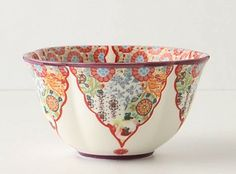 Anthropologie, moorish bowl