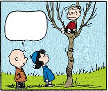 Clip Art: No climbing trees Linus. With Charlie Brown & Lucy Snoopy Clip Art, Peanuts Gang, Charlie Brown, Climbing, Trees, Tv, Drawings, Movies, Films