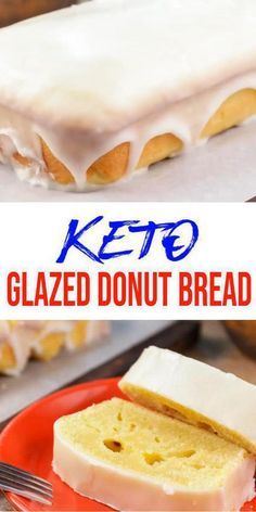 Keto glaze donut bread – OH YES! Who doesn't love glaze donuts? Turn your love for low carb glaze donuts into a loaf bread. NO need for a donut pan when you can… Easy Bread Recipes, Donut Recipes, Low Carb Recipes, Loaf Bread Recipe, Paleo Recipes, Lemon Dessert Recipes, Easy Desserts, Easter Recipes, Recipes Dinner