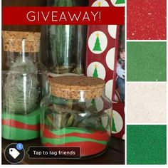 We are kind of obsessed with these Christmas Cacti Colored Sand Terrariums that @jenniferperkins created for our website (project up there now!), so we're giving away a prize pack of our Scenic Sand in red, light green, forest green, white, and pink!  But here's the deal- you have to pop over to our Facebook page to enter.  Just visit us at www.facebook.com/activaproductsinc and find the post (pinned to the top) to enter.  Super easy!  #giveaway #win #entertowin #contest #christmas…