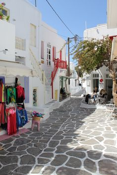 Always sunny inside and out in Mykonos, Greece!
