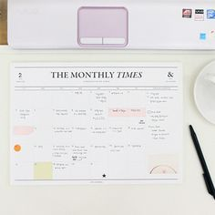 Seeso The Monthly Times Planner Scheduler