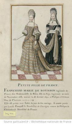 The Dreamstress ~ blog on *Robes de Cour* and what Louis XIV wanted on his ladies at court ~ Portraits de dames en grand costume de cour