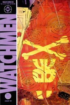 The cover to Watchmen art by Dave Gibbons Comic Book Artists, Comic Books Art, Comic Art, Quis Custodiet Ipsos Custodes, Dc Comics, Superman Story, Dave Gibbons, Graphic Artwork, Classic Comics