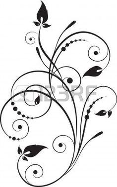 decorative branch Stock Photo - 9375351