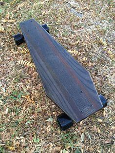 Cruiser Skateboard, Surfboard Skateboard, Skateboard Decks, Longboard Design, Skateboard Design, Complete Skateboards, Cool Skateboards, Black Truck, Longboarding