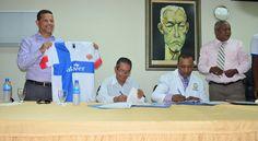 Atlético Vega Real firma convenio con Hospital Traumatológico Profesor Juan Bosch