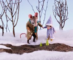 MousesHouses: signs of spring