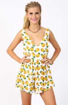 3294cd07831 Pineapple clothing is so in. Need me this Pineapple Crush Playsuit   beginningboutique Pineapple Romper