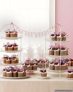 Cupcake display...