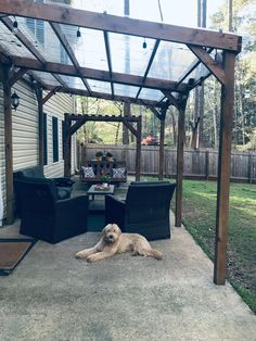 Backyard Covered Patios, Covered Patio Design, Backyard Patio Designs, Backyard Projects, Diy Patio, Covered Pergola, Covered Patio Plans, Backyard Shade, Covered Patio Diy