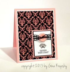 Stamp TV--Mother's Day card?