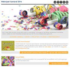Webwijzer Carnaval 2016 is uit Vol polonaise nummers en ander PO nieuws http://www.schoolbordportaal.nl/carnaval-lesmateriaal-digibord-startpagina.html #onderwijs #digibord