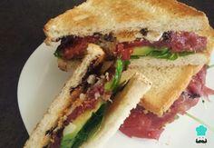 Receta de Sándwich de carpaccio - Sándwiches fríos gourmet #RecetasGratis #RecetasdeCocina #Recetasfáciles #Sándwiches #SándwichesIdeas #Bocadillos #Bocatas #Carpaccio