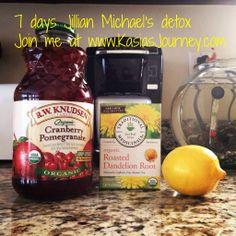 Jillian Michael's 7 days detox.