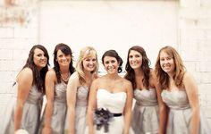 love the bridesmaids dresses