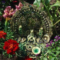 Celtic goddess shrine